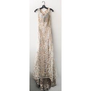 Cinderella XC002 lace dress size 6